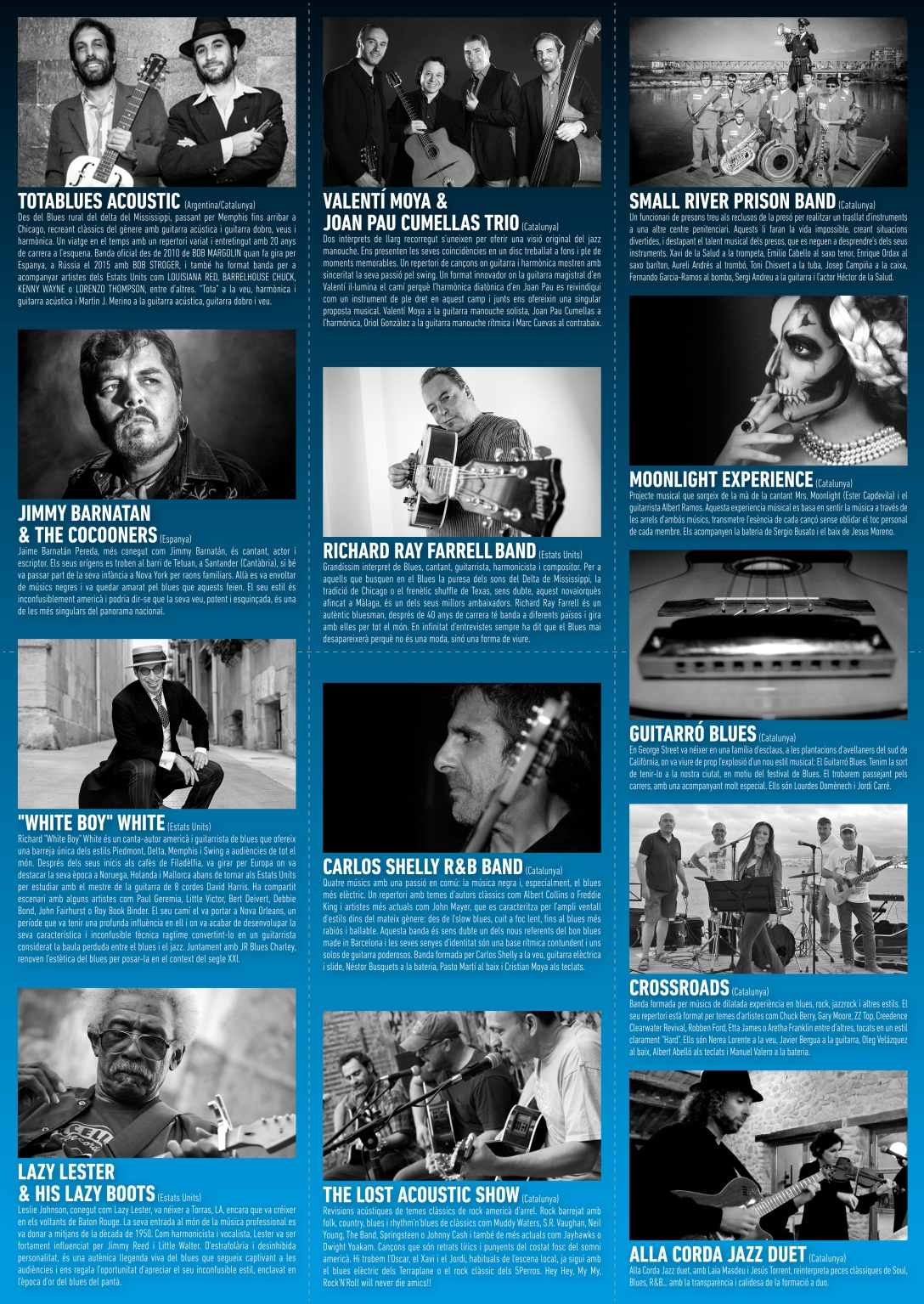 Programa Reus Blues 2016