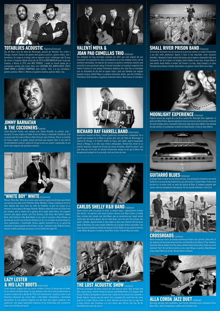 Programa Reus Blues 2016